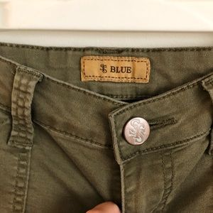 STS Blue Jeans - STS Blue green cargo jeans